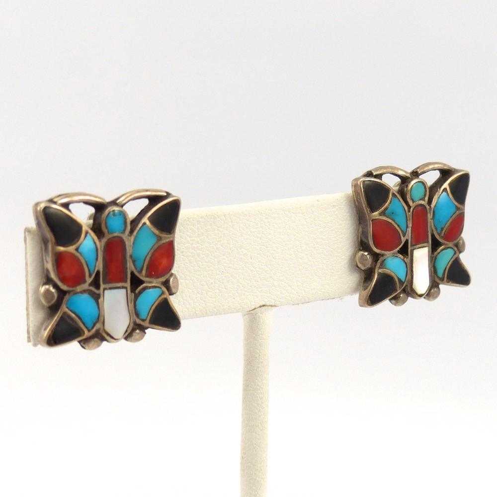 Butterfly Clip Earrings, Vintage Collection, Jewelry, Garland's Indian Jewelry