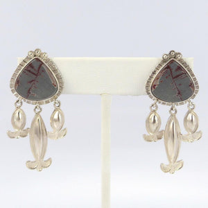 Agate Earrings - Jewelry - Myron Panteah - 1