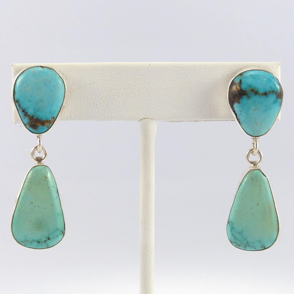 Carico Lake Turquoise Earrings - Jewelry - Noah Pfeffer - 1