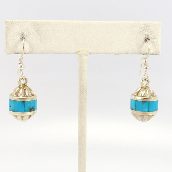 Morenci Turquoise Earrings - Jewelry - Michael Perry - 1