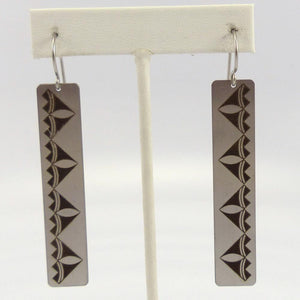 Pottery Design Earrings - Jewelry - Pat Pruitt - 1