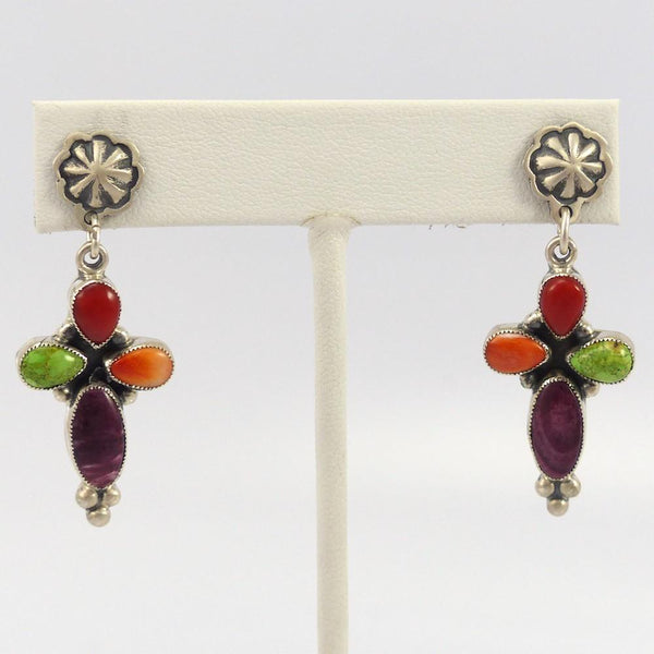 Multi- Stone Earrings