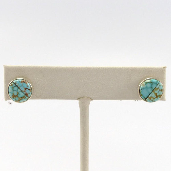 Number Eight Turquoise Earrings