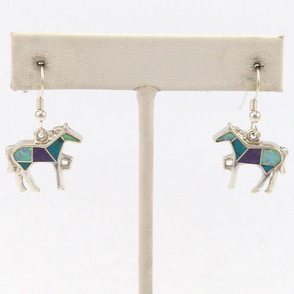Shalako Horse Earrings