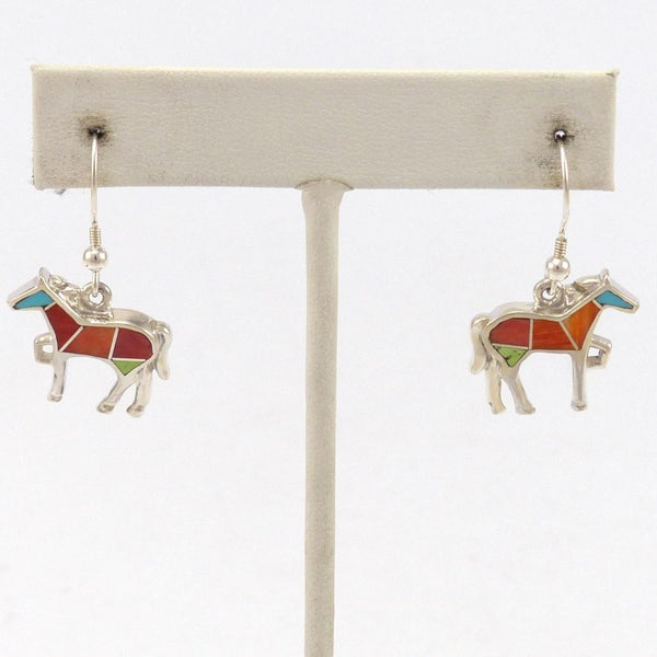 Sunrise Horse Earrings