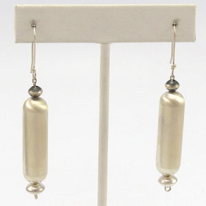 Navajo Pearl Earrings, Ben Haley, Jewelry, Garland's Indian Jewelry