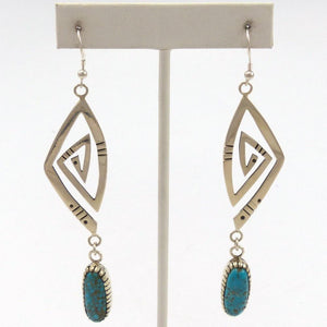 Turquoise Migration Earrings