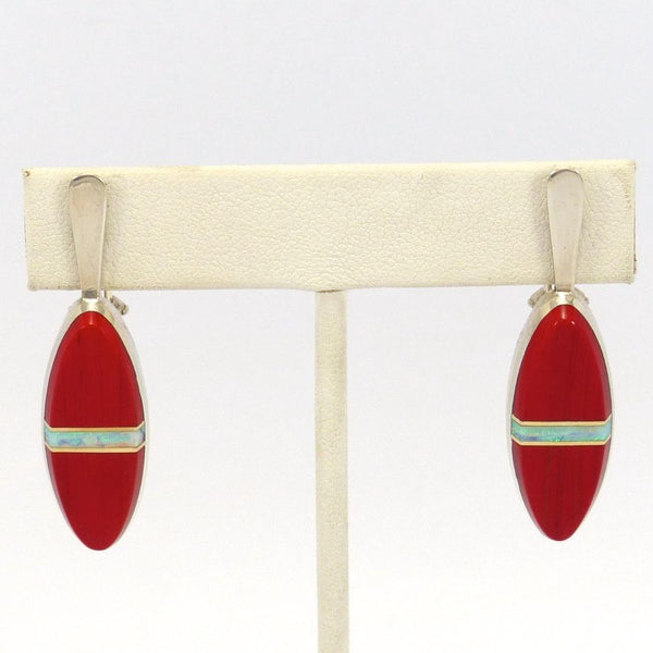 Rosarita and Opal Earrings