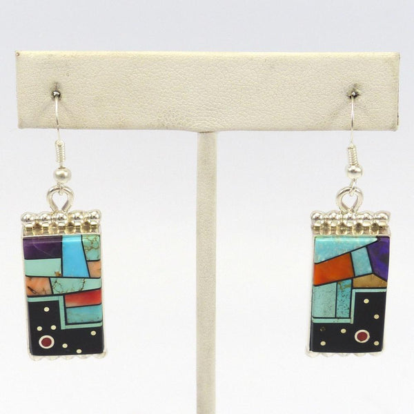 Stained Glass and Night Sky Earrings