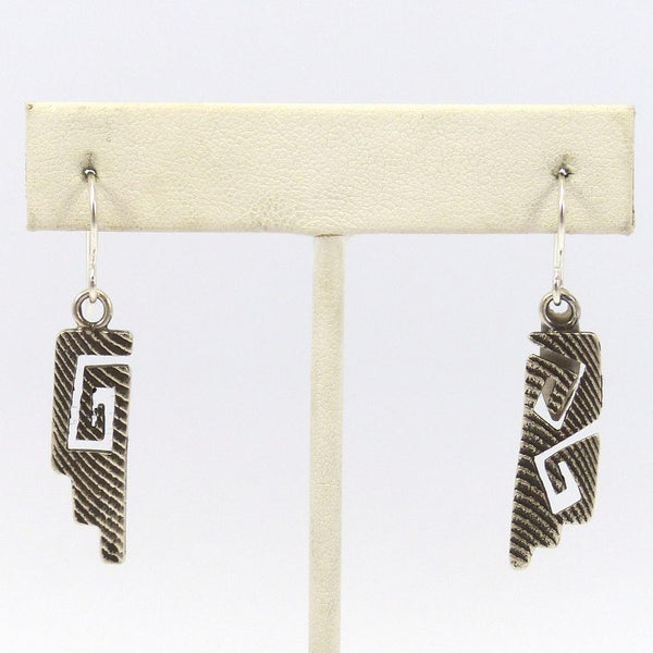 Cast Cutout Earrings