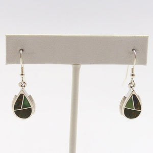 Variscite Inlay Earrings