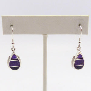 Sugilite Inlay Earrings