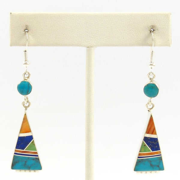 Colorful Inlay Earrings