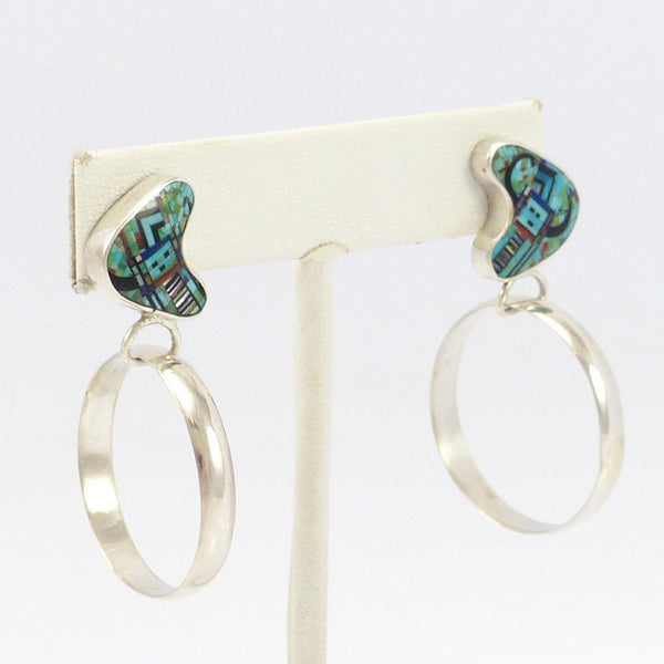 Micro-Inlay Yei Earrings