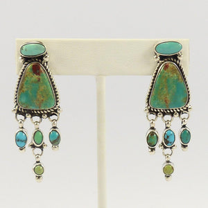 Royston Turquoise Earrings