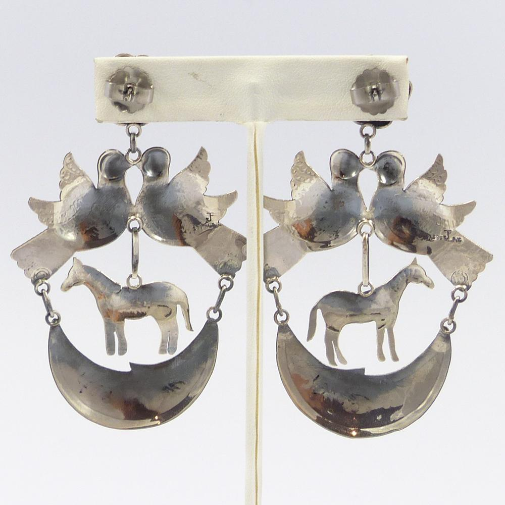 Frida Kahlo Horse Earrings