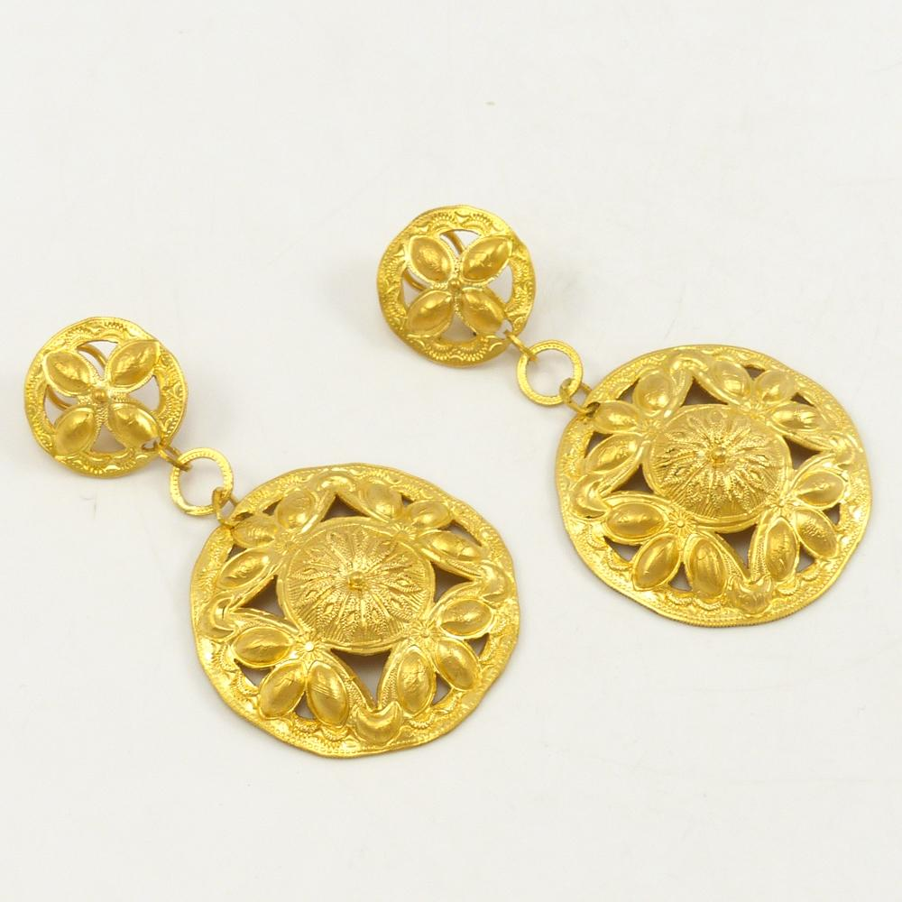 23.5k Gold Earrings