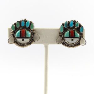1960s Sunface Earrings