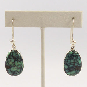 Peacock Turquoise Earrings