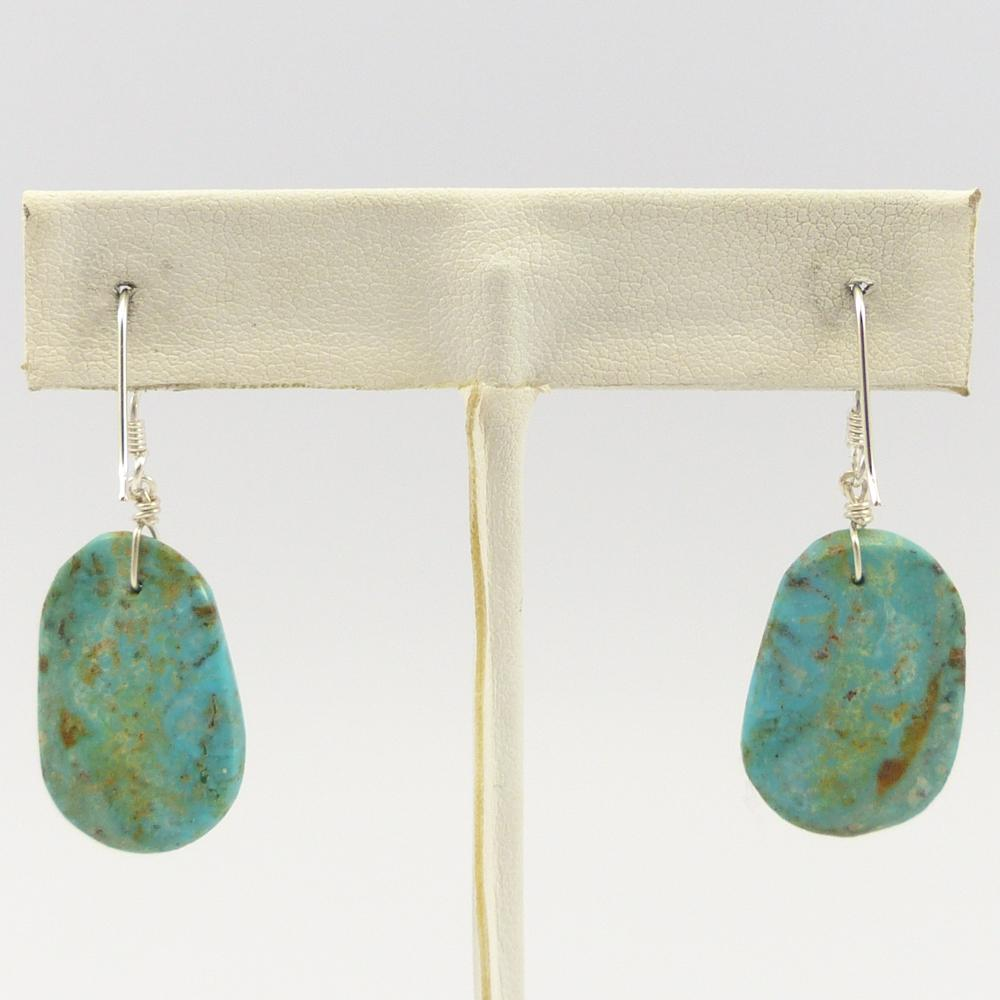Cripple Creek Turquoise Earrings