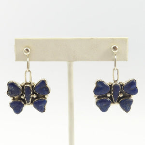 Lapis Butterfly Earrings