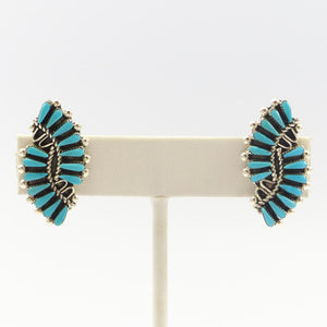 Turquoise Clip Earrings
