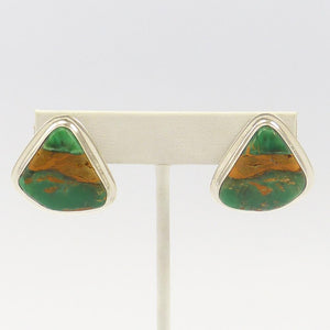 Australian Variscite Earrings