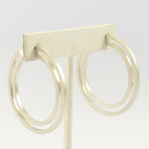 Strata Hoop Earrings