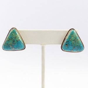 Morenci Turquoise Earrings