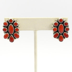Coral Earrings