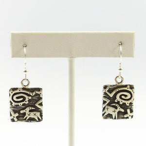 Petroglyph Earrings