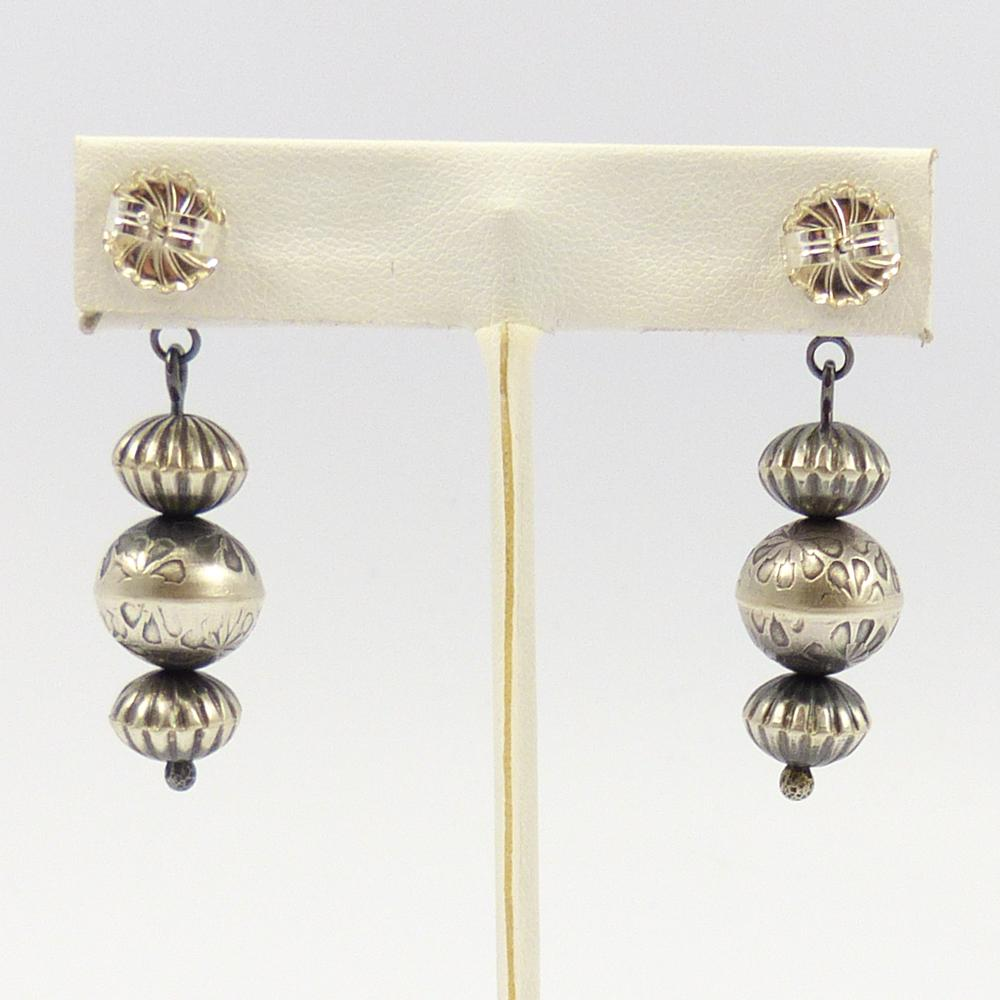 Navajo Pearl Earrings