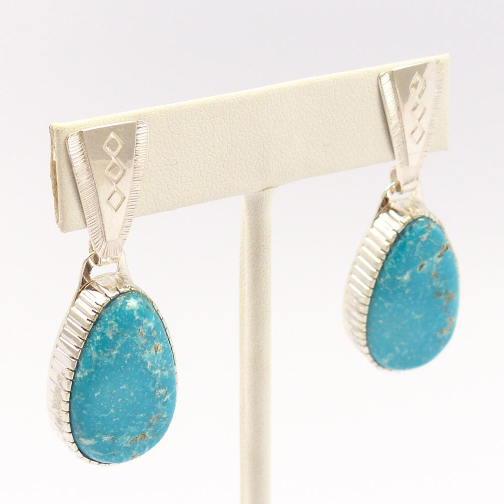 Kinmgan Turquoise Earrings