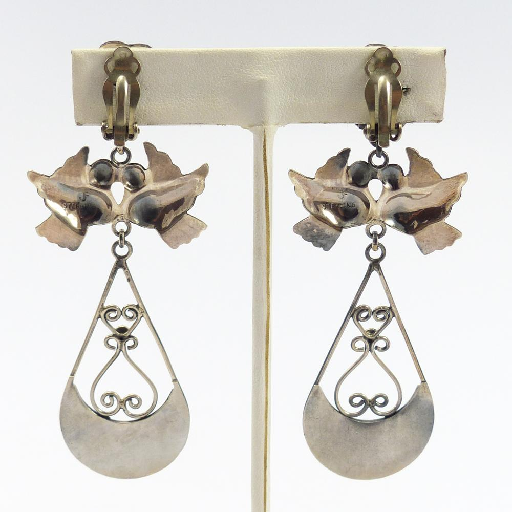 Clip Frida Kahlo Earrings