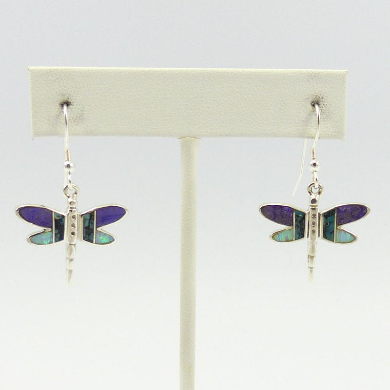 Dragonfly Inlay Earrings