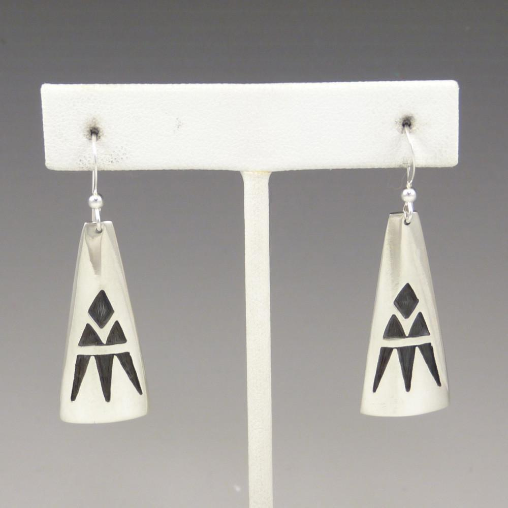 Hopi Overlay Earrings - Jewelry - Anderson Koinva - 1