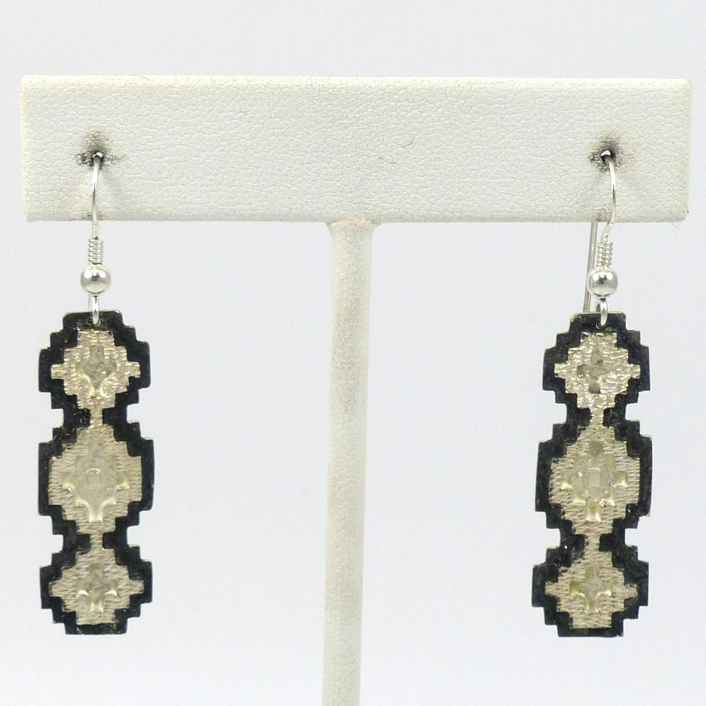 Navajo Rug Earrings - Jewelry - Dan Jackson - 1