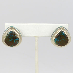 Bisbee Turquoise Earrings - Jewelry - Michael Perry - 1