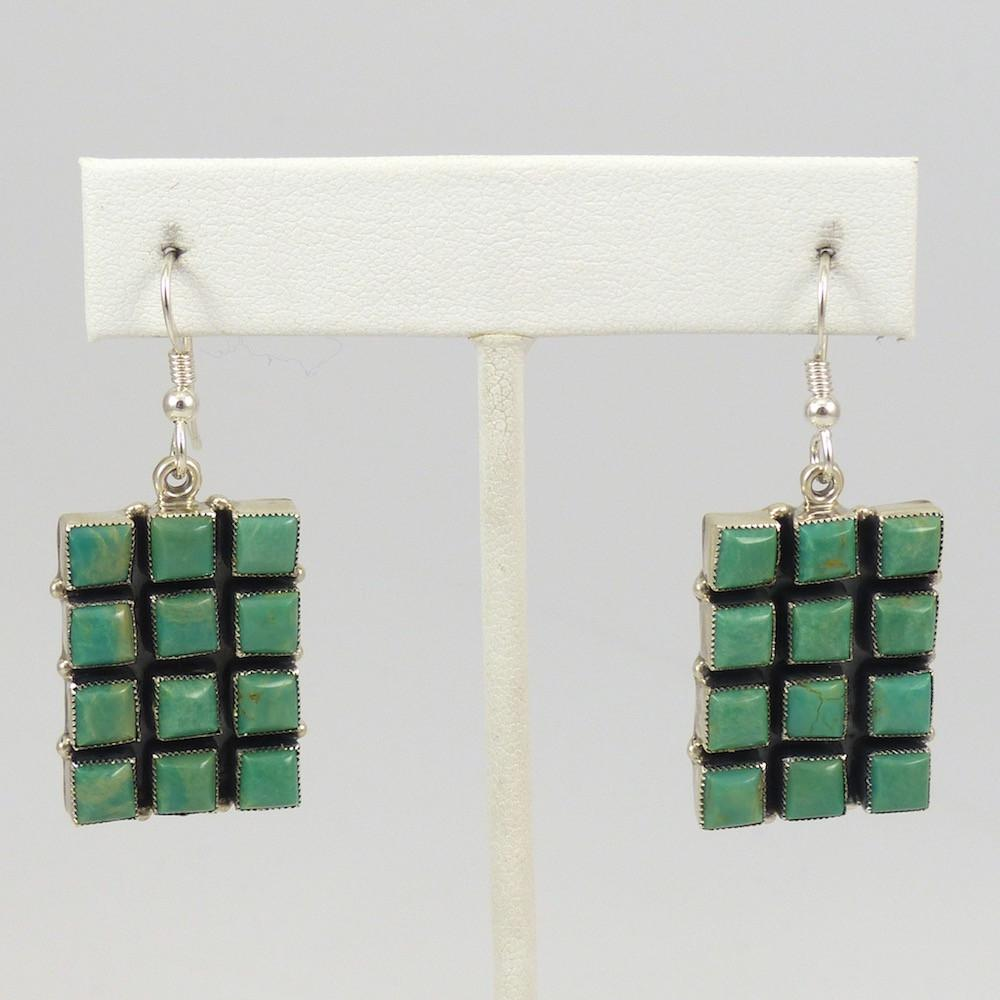 Turquoise Earrings - Jewelry - Don Lucas - 1