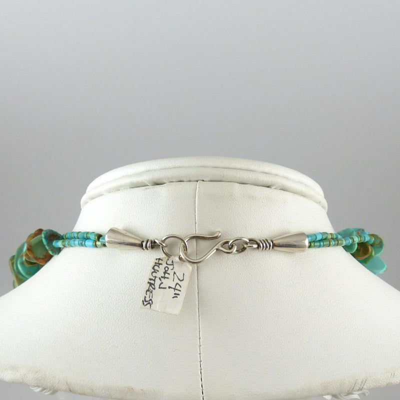 Royston Turquoise Tab Necklace - Jewelry - John Huntress - 9