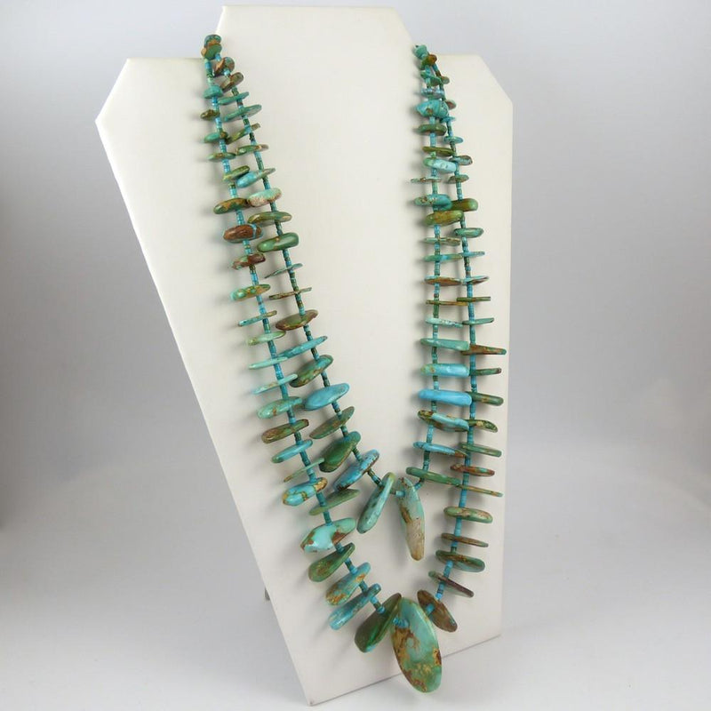 Royston Turquoise Tab Necklace - Jewelry - John Huntress - 2