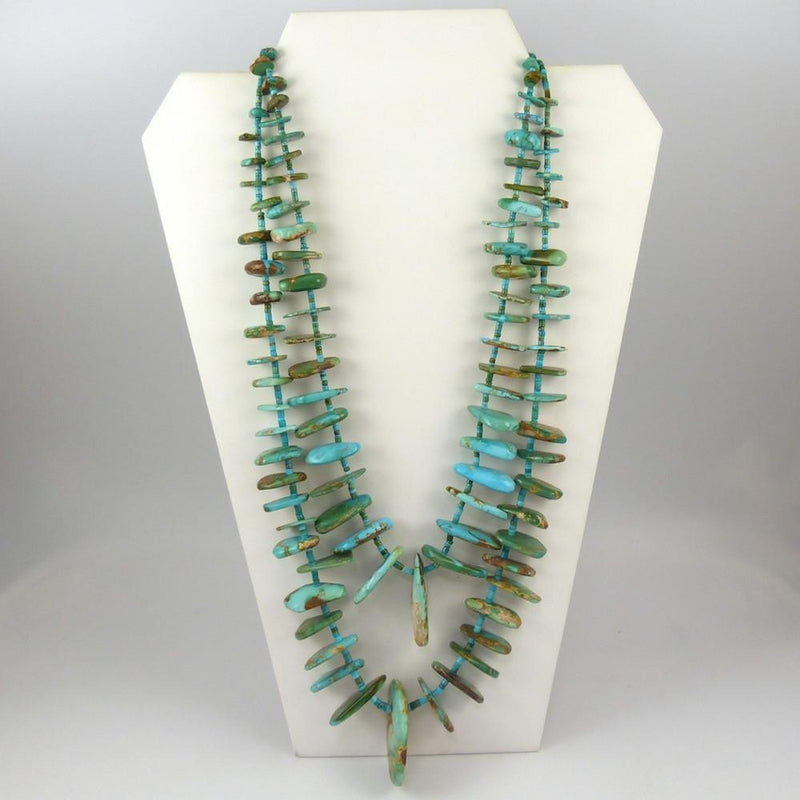 Royston Turquoise Tab Necklace - Jewelry - John Huntress - 1