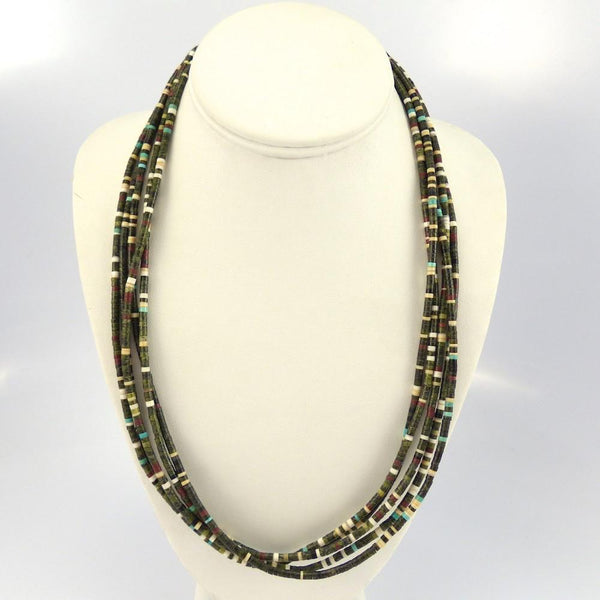 Serpentine Necklace - Jewelry - Lester Abeyta - 1