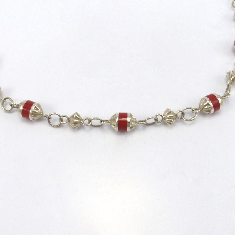 Coral Bead Necklace, Michael Perry, Jewelry, Garland's Indian Jewelry
