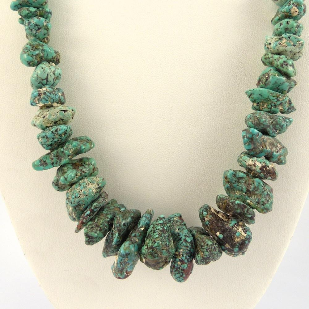 Crow Springs Turquoise Necklace - Jewelry - Vintage Collection - 1