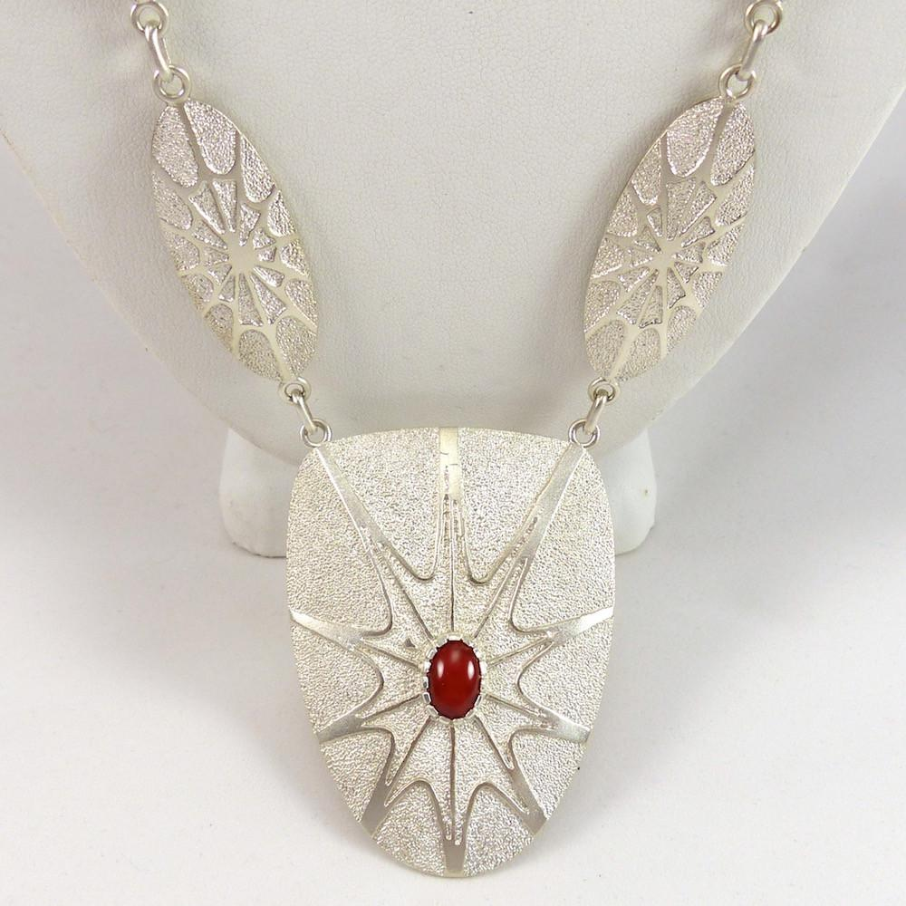 Spiderweb Necklace - Jewelry - Fidel Bahe - 1