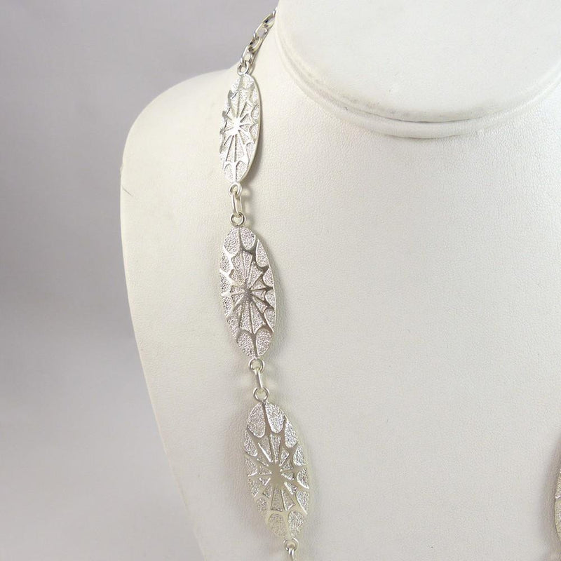 Spiderweb Necklace - Jewelry - Fidel Bahe - 5