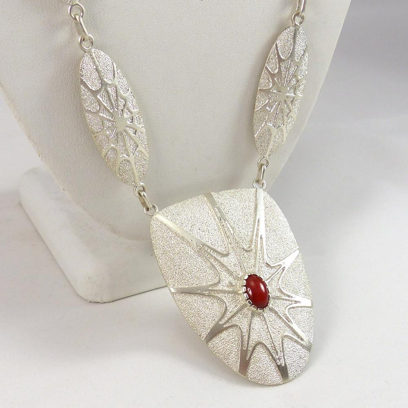 Spiderweb Necklace - Jewelry - Fidel Bahe - 3