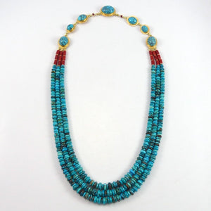 """Blue Maiden"" Necklace - Jewelry - Larry Vasquez - 1"