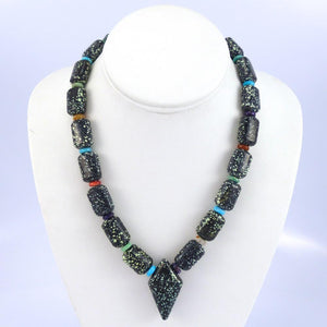 Peacock Turquoise Necklace - Jewelry - Bruce Eckhardt - 1
